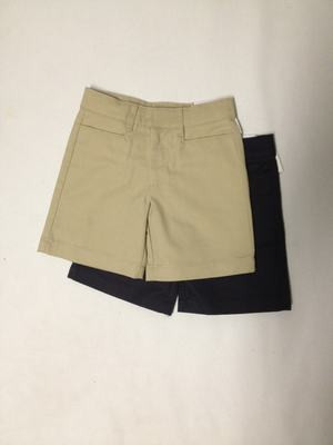 Girls Shorts - Flat Front