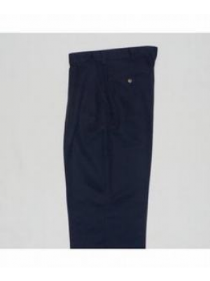 Boys Pants Pleated Navy 25-50