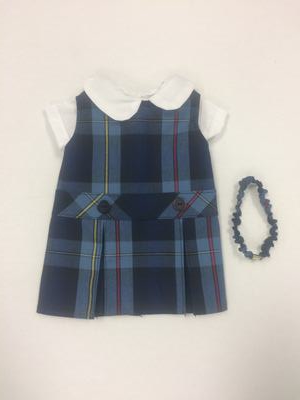 Doll Dress Hi Neck 41