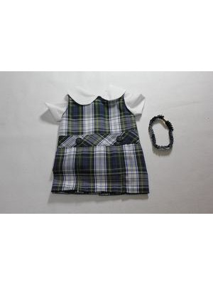 Doll Dress Hi Neck 80