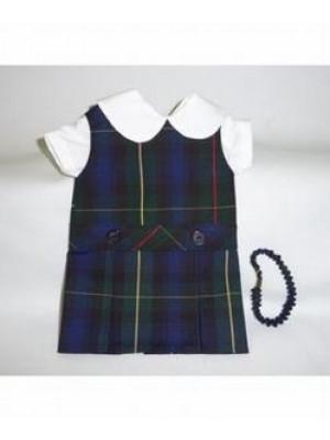 Doll Dress Hi Neck 55