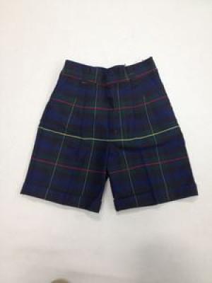 Girls Shorts - Plaid 55