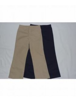 Girls Pants - Flat Front