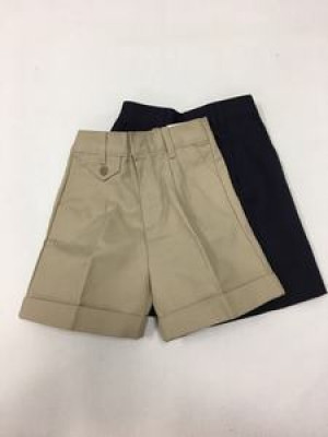 Girls Shorts - Pleated