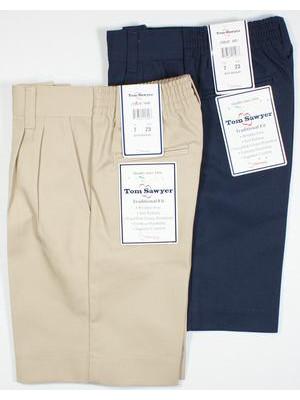 Boys Shorts - Pleated