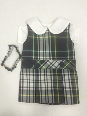 Doll Dress Hi Neck 35