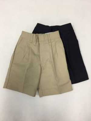 Boys Shorts - Pleated