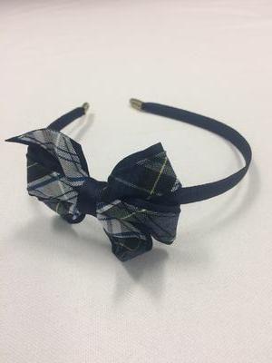 Headband w bow 80